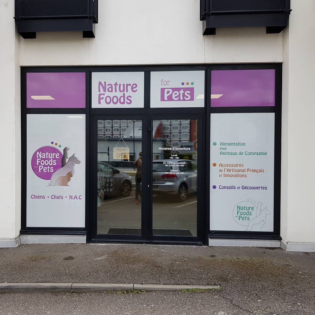 Animalerie à Yutz : Vitrine Nature Foods for Pets